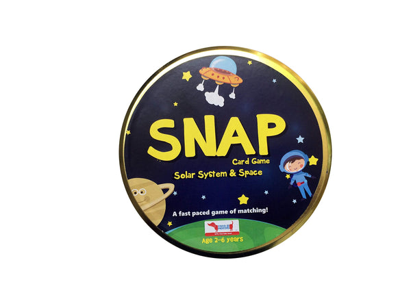 CocoMoco Kids Solar System & Space SNAP Flash Card Game
