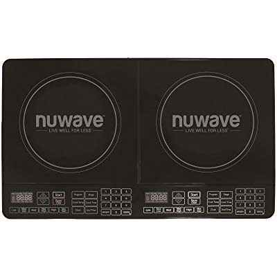NuWave 30602 Double Precision Induction Cooktop Burner, Black