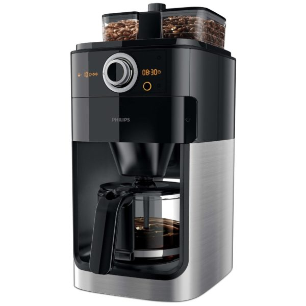 Philips Grind Brew Dripfilter coffee machine HD7762/00 + ( freeCoffee Bean colombian 250 G + Coffee Bean Guatemalan 250 G)