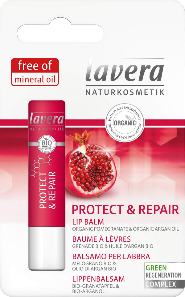lavera Protect & Repair Lip Balm - regenerating care for your lips - Organic Skin Care - Natural & Innovative Cosmetics