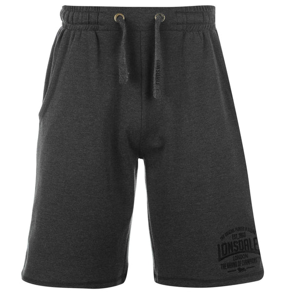 Lonsdale Mens Box Lightweight Shorts Charcol XLarge