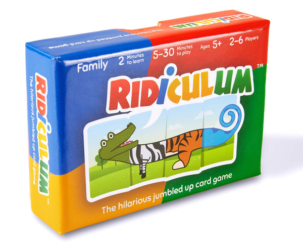 Ridiculum - The hilarious jumbled up card game – family-friendly & all ages – party games – card games – for adults & kids / children