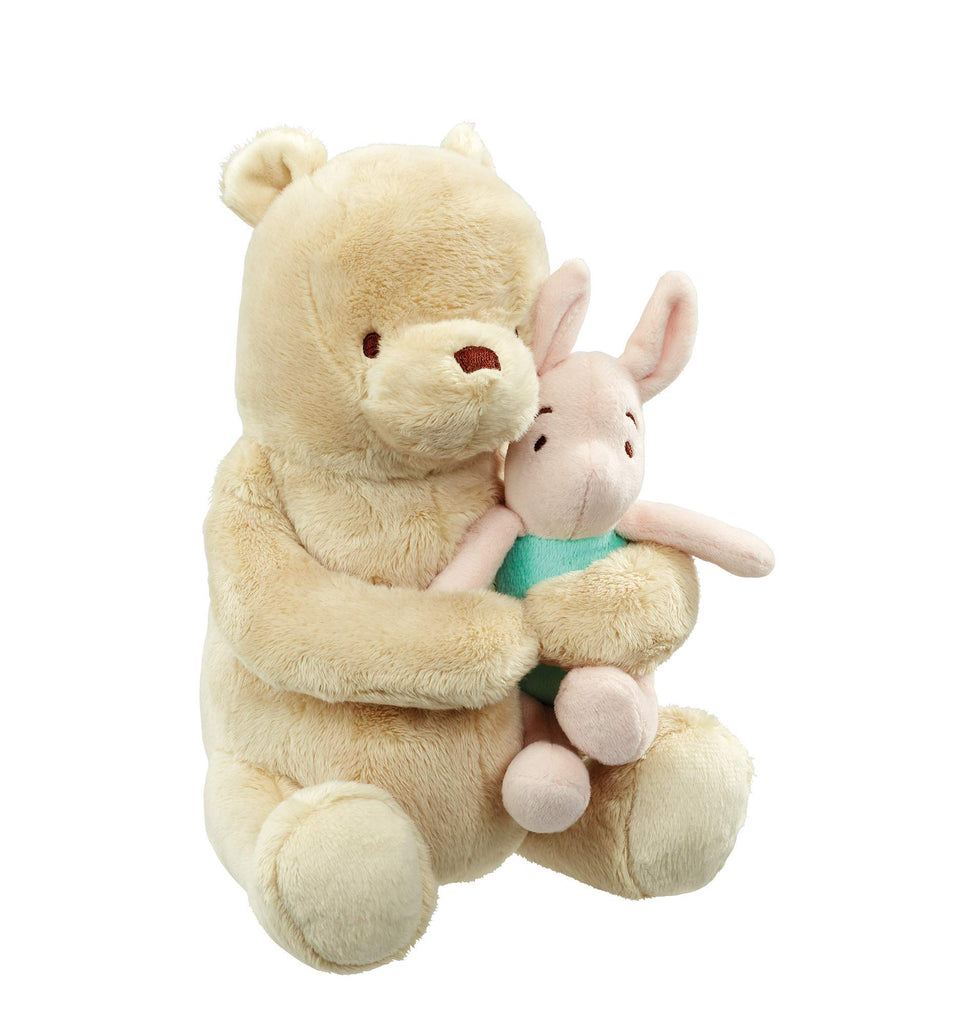 Rainbow Designs DN1609 Hundred Acre Wood Lullaby Winnie the Pooh & Piglet Soft Toy Pooh، Piglet
