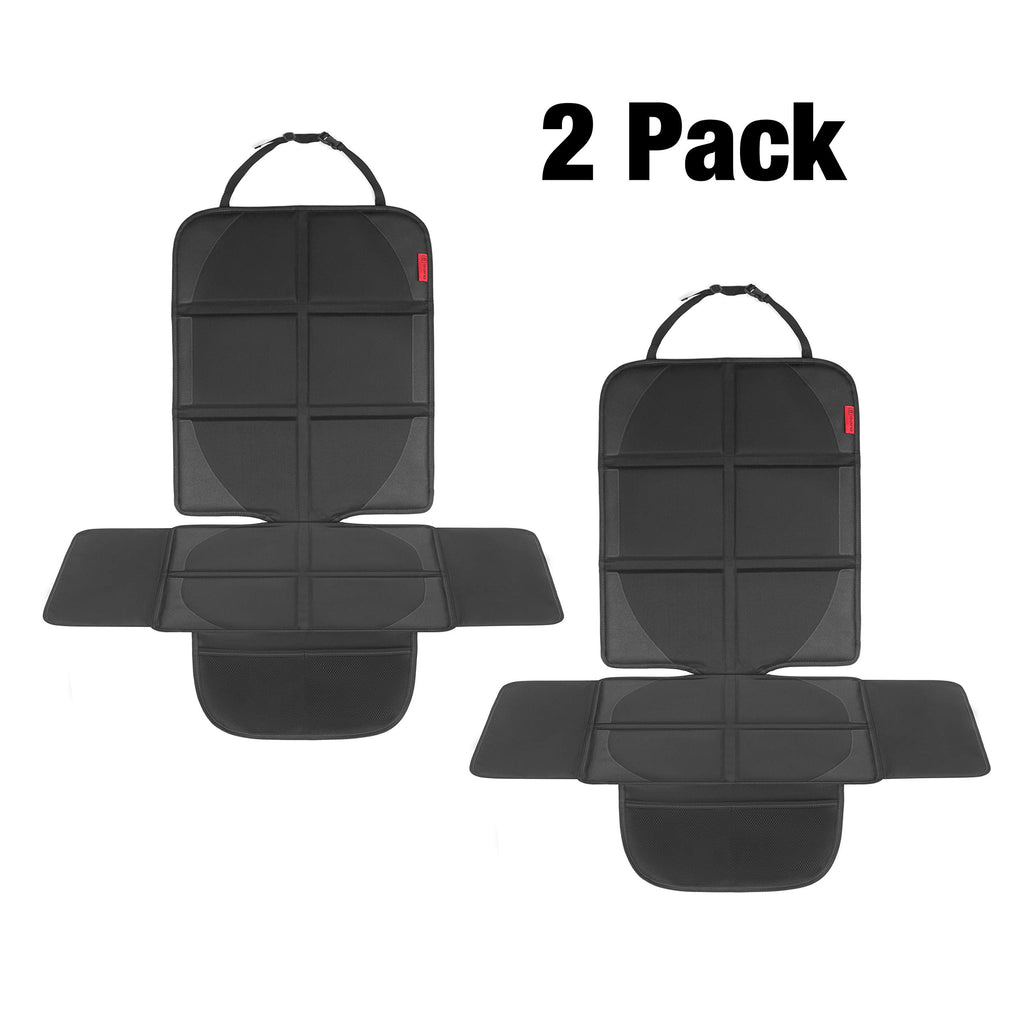 Lightweight Car Seat Protector Perfect Size for SUVs and Sedans Oxford 600D Special Extra Protection Flap Design Pockets for Storage Easy to Clean 8safe Anti-Slip ISOFIX Compatible