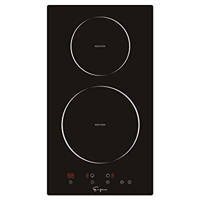 "Empava EMPV-IDC12 12"" Induction Cooktop Electric Stove Black Vitro Ceramic Smooth Surface Glass 3000 Watts"