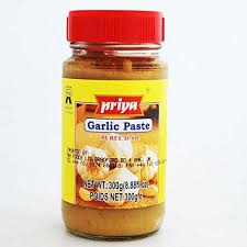 PRIYA GARLIC PASTE300G. 2098.0031 2098.0032 2098.0033  L49