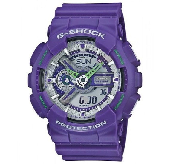 Casio G-Shock Resin Watch For Men - GA-110DN-6A