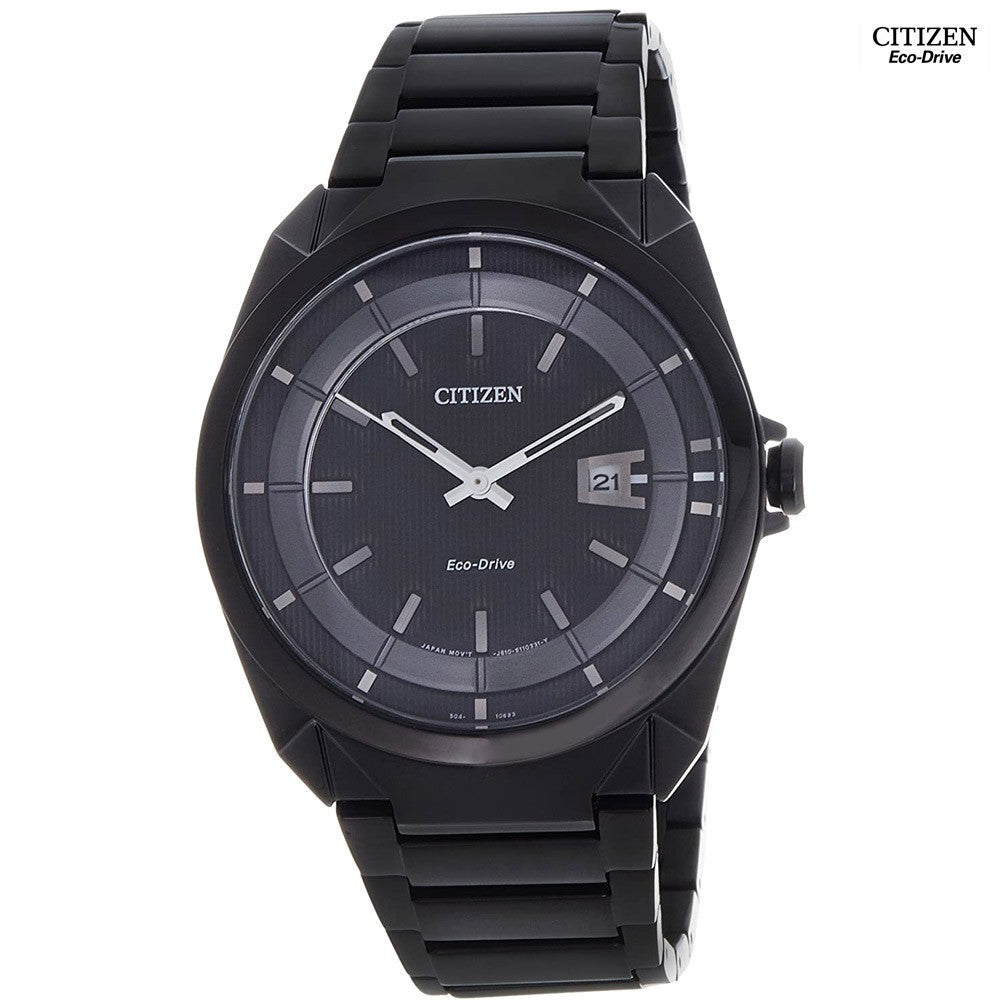 Citizen Eco Drive for Men Analog Stainless Steel Watch, AW1015-53E
