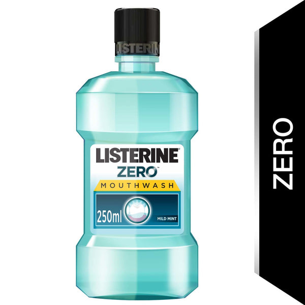 Listerine Mouthwash Zero Alcohol Mild Mint 250ml