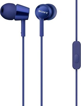 Sony MDREX15LPL In Ear Headphone Blue