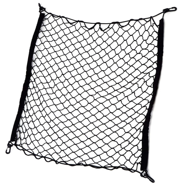 Xinstroe Car Net, Cargo Net, Flexible Nylon Rear Cargo Trunk Storage Net, Luggage Transport Net Storage Net, Car Storage Box, 70 * 70cm