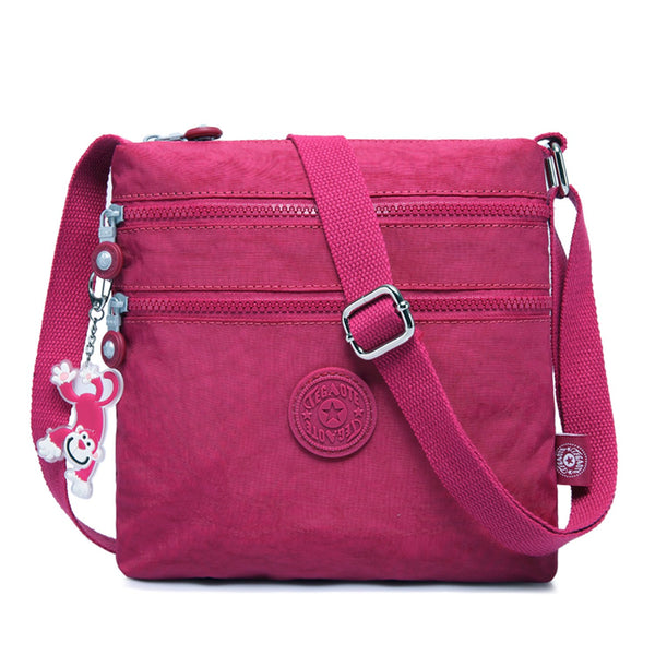 Women Shoulder Bag Travel Cross Body Bag Casual Messenger Bag for Sport Fashion Satchel Girls Crossbody Side Pack