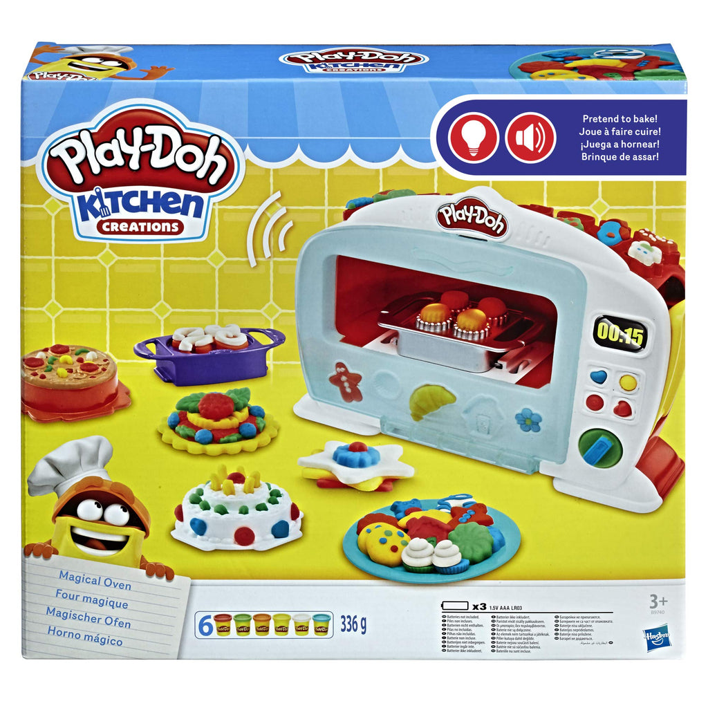 Play-Doh Kitchen Creations Magical Oven - حصريًا لأمازون