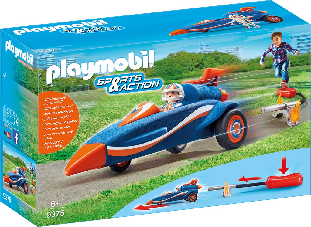 Playmobil Sports and Action 9375 Stomp Racer للأطفال من سن 5+