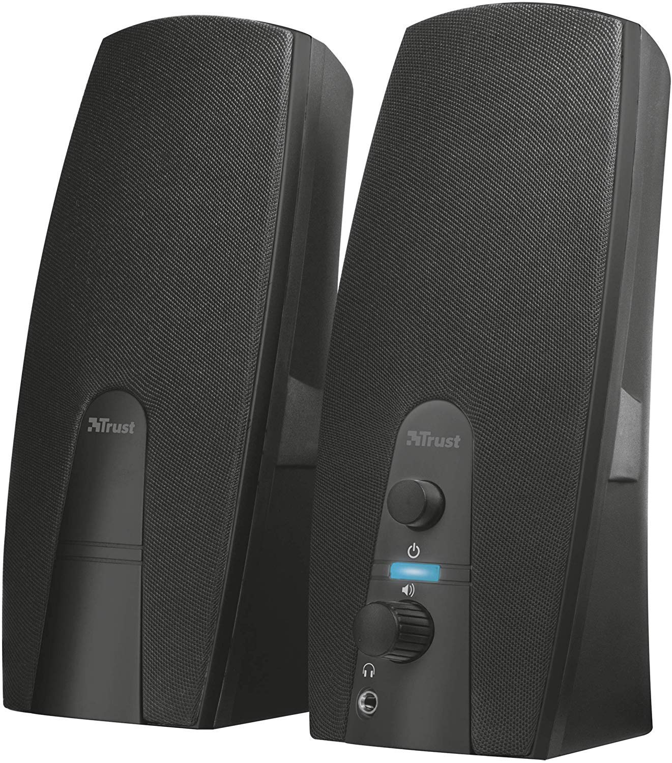 Trust Almo 2.0 PC Speakers for Computer and Laptop، 10 W، USB Powered، Black