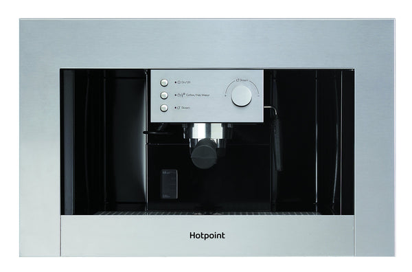 Hotpoint CM 5038 IX H Built-in Coffee machine - Stainless Steel