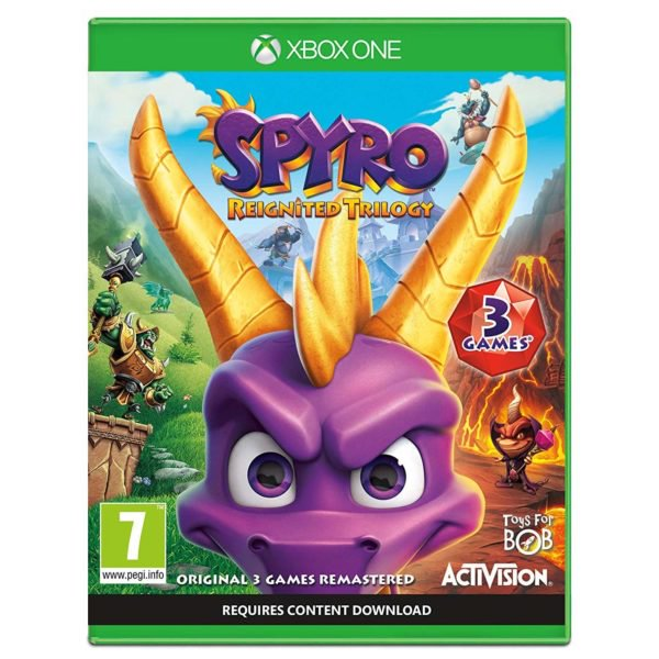Xbox Games - Xbox One Spyro Reignited Trilogy Games | Buy online in Bahrain