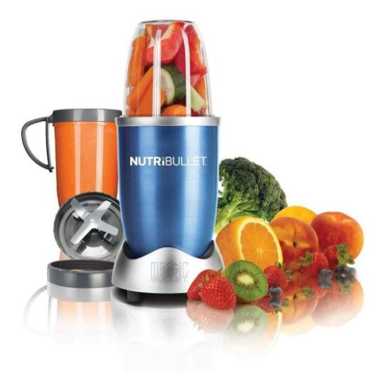 Magic Bullet Nutribullet Blender Set 8Pcs Blue NBR0812B