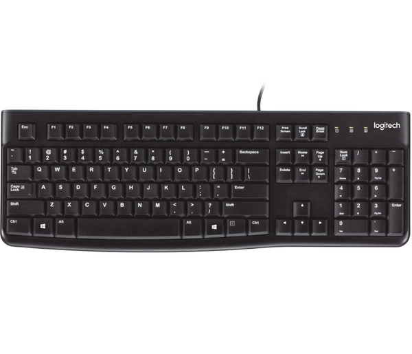 Logitech Keyboard Wired USB K120 - ARB