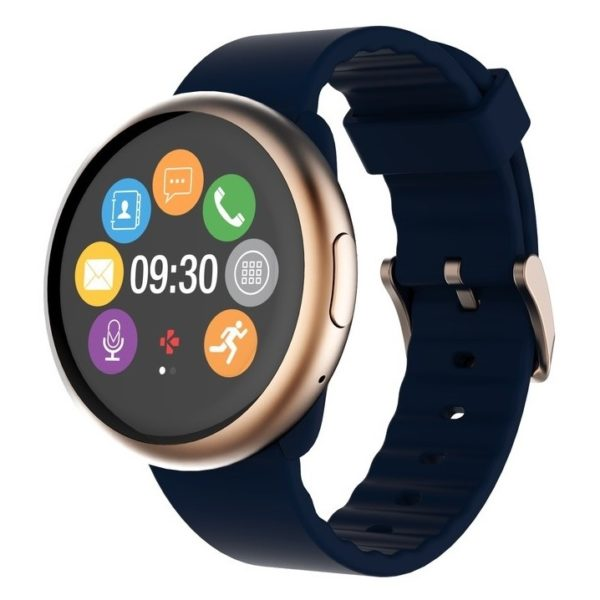 MyKronoz ZeRound2 Smart Watch Pink Gold/Blue