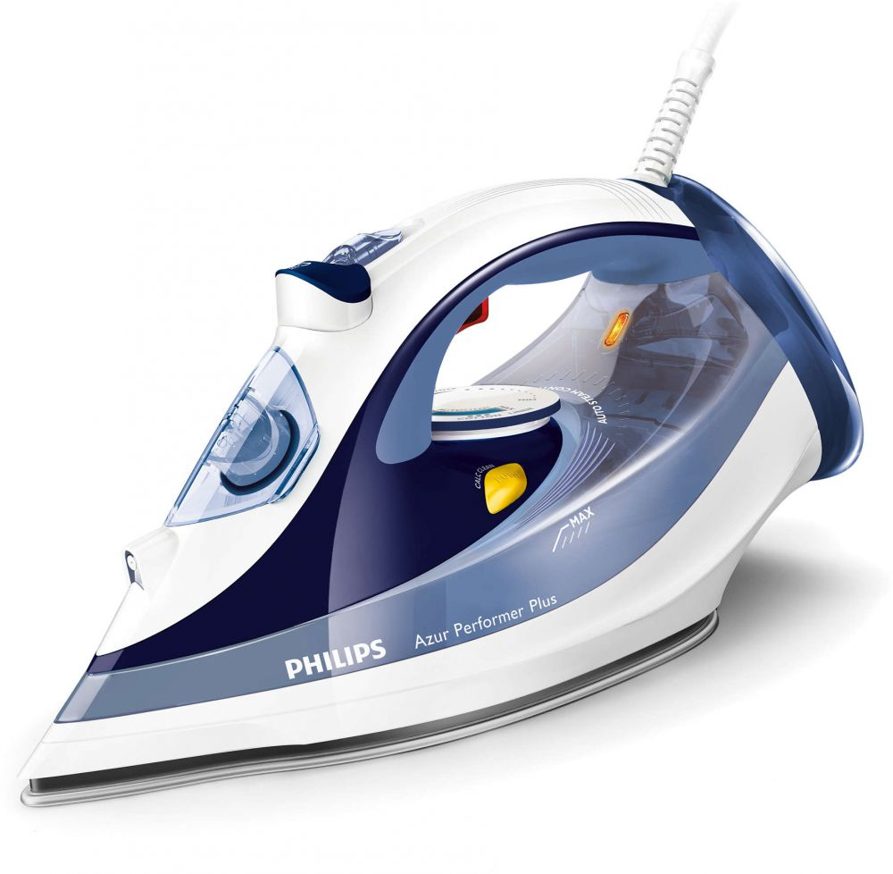 Philips Perfect Care Steam Iron, Blue - GC4517