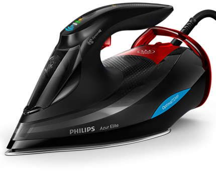 Philips Steam Iron 3000 Watt, Black - GC5037/86