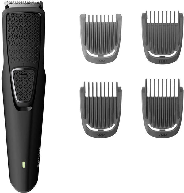 Philips BT1214/15 Beard Trimmer Series 1000 Stainless steel blades, USB charging
