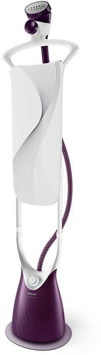 Philips Comfort Touch Plus Garment Steamer - Purple, GC558/36