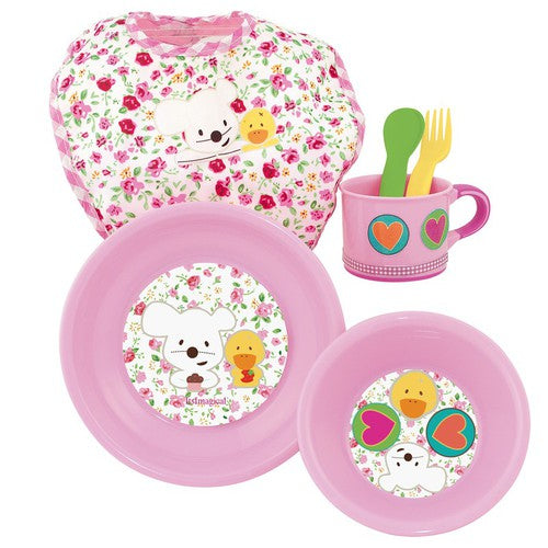 Kids Toys - BABY MEAL SET PINK
