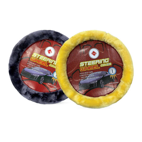 Care Car Steering Cover FARU Assorted Colors