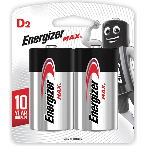 ENERGIZER BATTERY D-2.E95BP2                                  L28