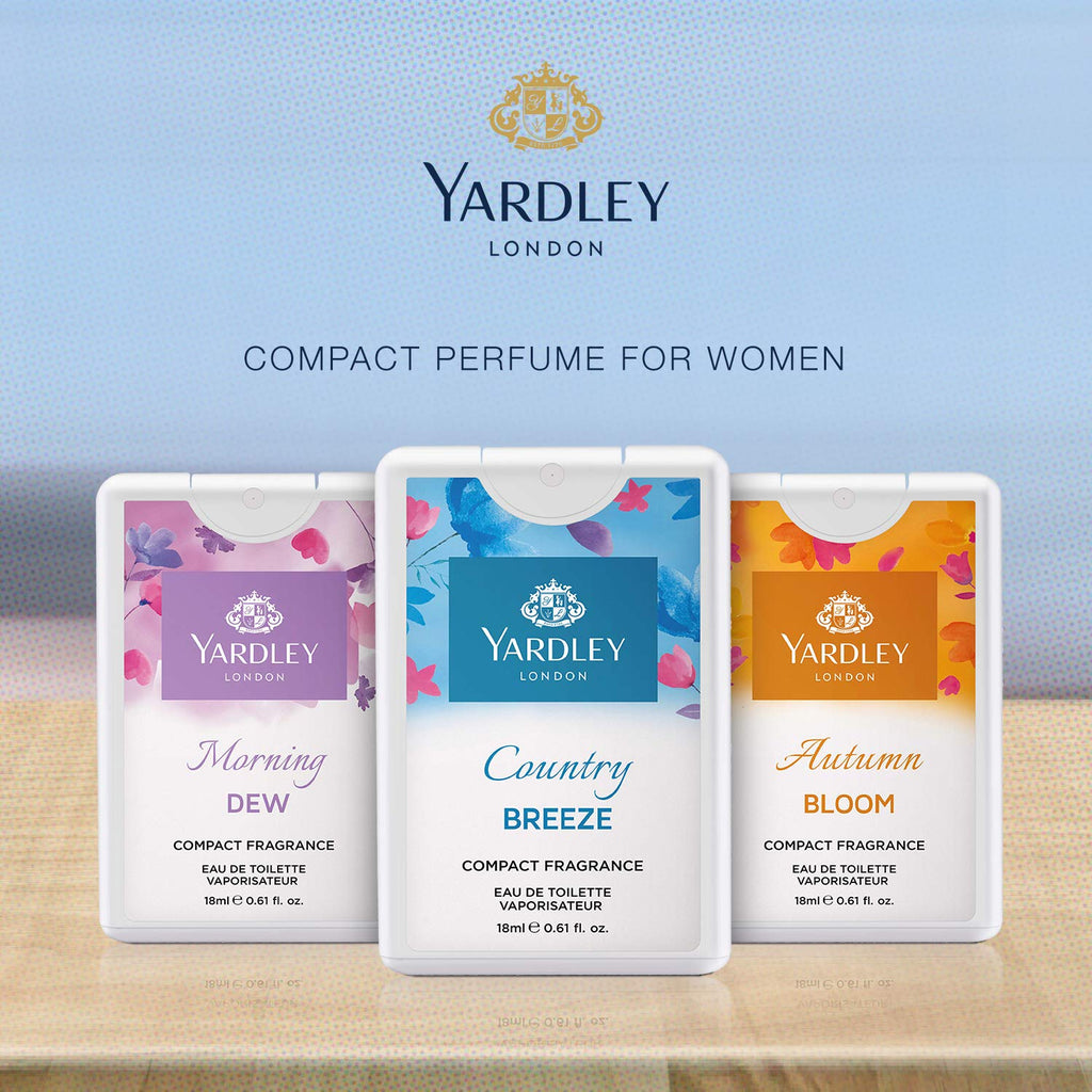 YARDLY COMPACT PERFUME ASSTD 18ML                 L137