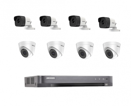 CCTV - CCTV Package Package بواسطة Hikvision - 8 قناة