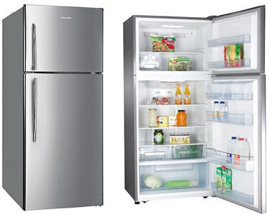 Hisense Top Mount Refrigerator 650 Litres RT650NAIS + H28MOMBL Microwave Oven Basic 28 Litres