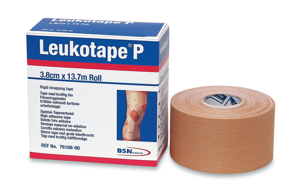 BSN Medical BEI076168 Leukotape P Sports Tape، 1 1/2 Inch x 15 Yard