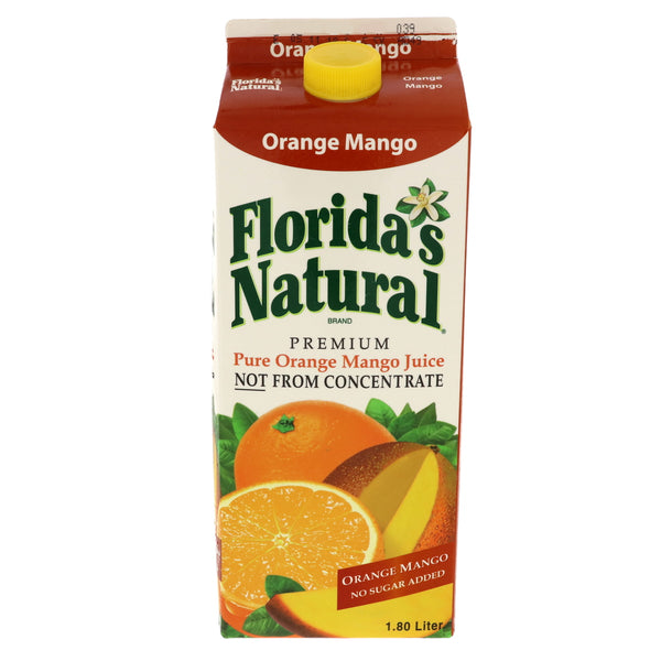 Floridas Natural Pure Orange Mango Juice 1.8 لتر