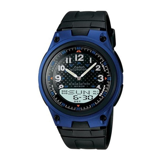 Casio Forester Analog Digital Watch AW-80-2BVDF (CN)