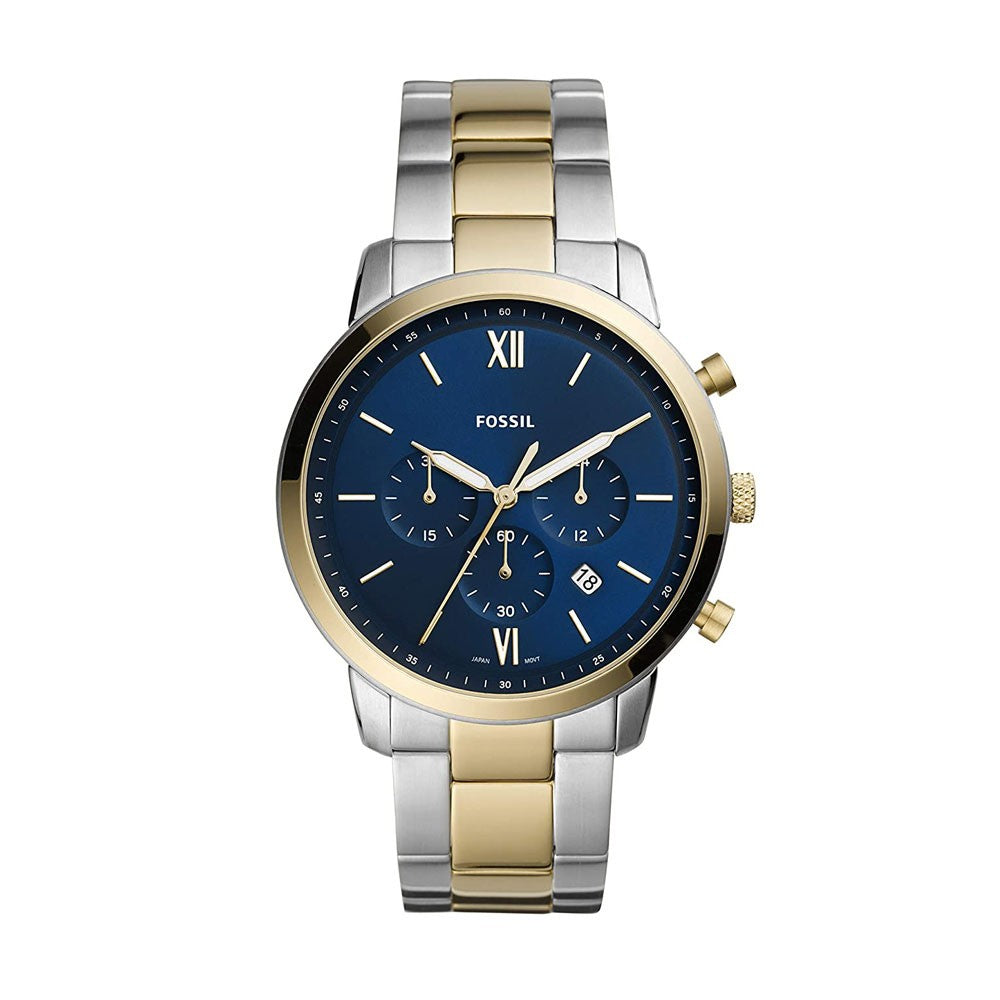 Fossil Neutra Chrono Analog Blue Dial Gents Watch, FS5706