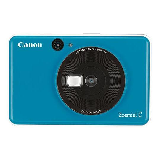 Canon ZOEMINI C Instant Camera With Printer Seaside Blue