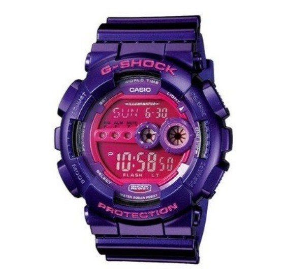 Casio G-Shock Super LED World Time Mens Watch - GD-100SC-6D