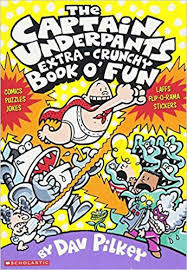 Story Book- The Captain Underpants Extra-crunchy Book O Fun