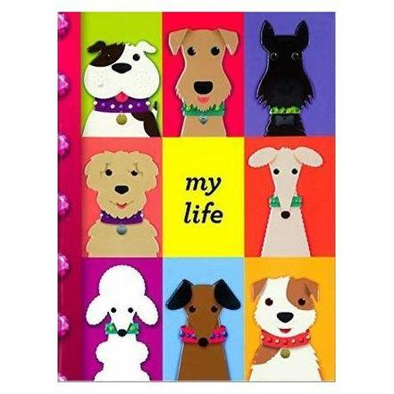 MY LIFE DIY/TABBED NOTEBOOKS: PUPPIES - 9781472320414