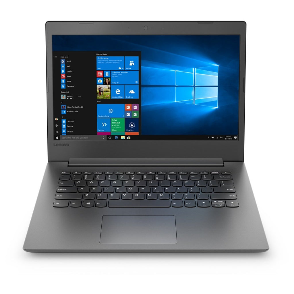 لاب توب Lenovo Ideapad 130 - Core i3 2GHz 4GB 1TB Shared Win10 14inch HD Black