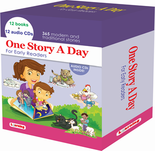 One Story A Day (12Bks+12 CDs) Online in Bahrain