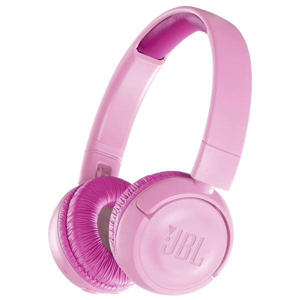JBL Kids Wireless On Ear Headphones Pink JR300BT