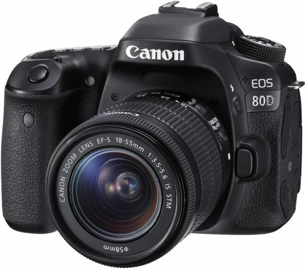 Canon EOS 80D DSLR Camera Black With EFS 18-55mm IS STM Lens