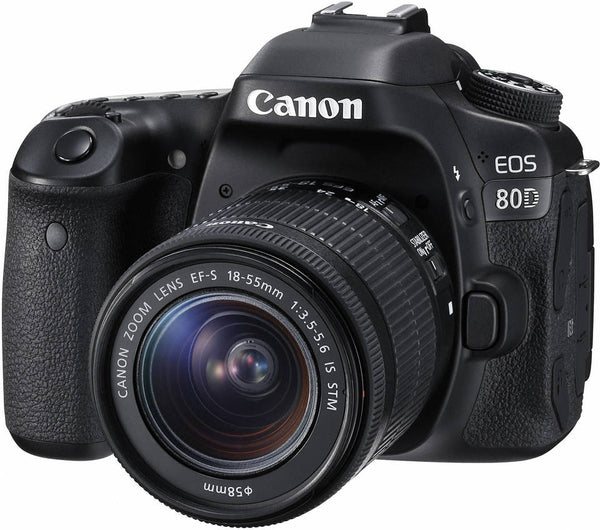 Canon EOS80D Digital SLR Camera + EFS 1855mm IS STM Lens