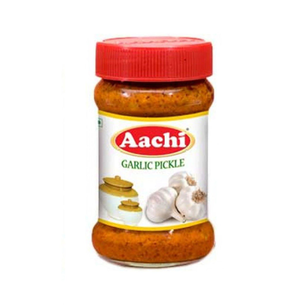 AACHI GARLIC PICKLE 300 GM