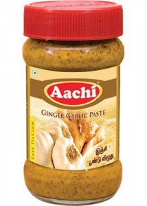 AACHI GINGER GARLIC PASTE 300 GM