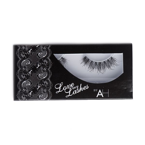 Natural Human Lashes - Snow white 9 - Suits All Eyes Shapes